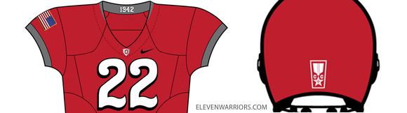 2010 Ohio State Nike Pro Combat Uniform Closeup