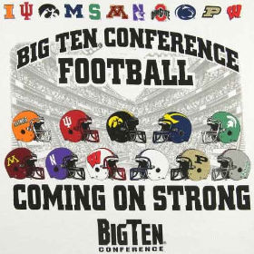 The Big Ten is tough this season