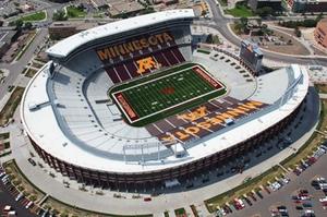TCF Bank Stadium: Gorgeous, yet abused.