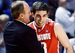 Thad Matta and Mr. Threebler