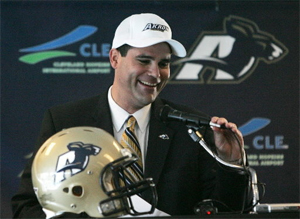 Will Akron coach Rob Ianello still be smiling in November?