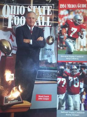 Ohio State Football 1994 Media Guide