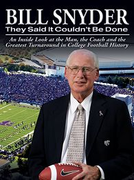 """I am not satisfied with proving my critics wrong. I MUST PEN MYSELF A BOOK SO MY CONQUEST STANDS FOR ALL OF ETERNITY. I AM BILL SNYDER."""