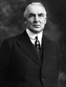 "The original ""Sultan of Swat""? Warren G. Harding's member."