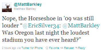 You're still a douche, Matt Barkley. AND YOU BETTER STAY THE HELL AWAY FROM THE BROWNS, SUNSHINE.
