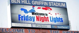 Friday Night Lights was a raging success held annually at Florida's Ben Hill Griffin Stadium