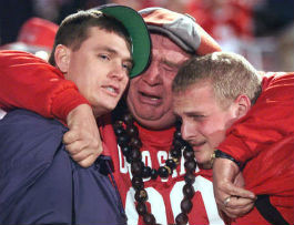 "The rare ""OSU fans upset"" picture"