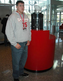 Leavitt soaked up his Junior Day at OSU