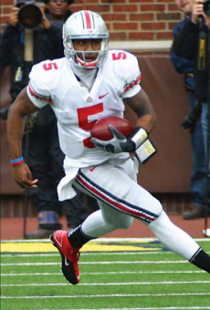 Braxton Miller captured the Big Ten's Freshman of the Year Award in 2011