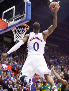 Thomas Robinson, the hard working Kansas All-American.