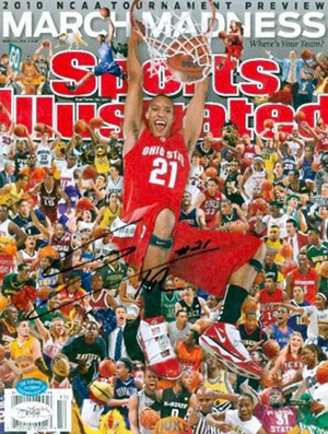 To the winner: Sports Illustrated's March Madness Issue, Autographed by The Villain