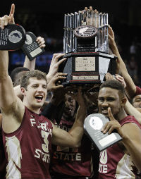 FSU won the ACC tournament for the first time