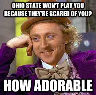 CONDESCENDING WONKA WOULD LIKE A WORD WITH YOU, UC FAN