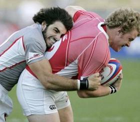 Nate Ebner, rugby star