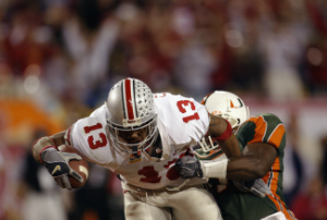 Maurice Clarett's effort against Miami will never be forgotten.