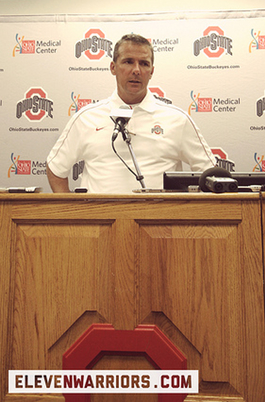 With each passing day, Urban Meyer is feeling better and better about his Buckeyes