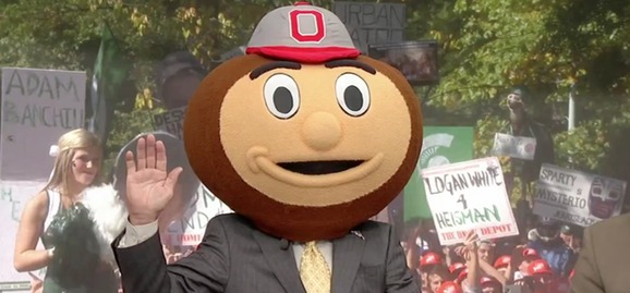 Lee Corso can see into the future
