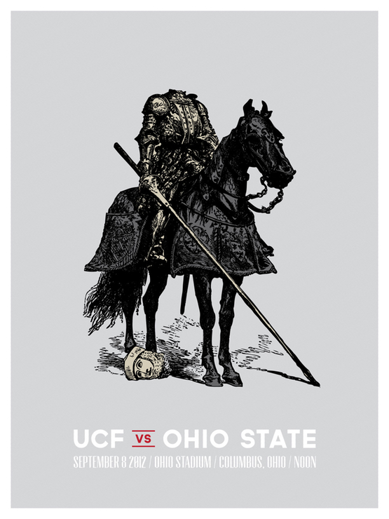 UCF Game Poster by Walt Keys