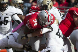 Purdue sure did talk big after Hyde's TD
