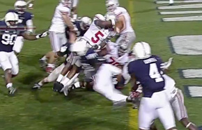 Braxton Miller's touchdown leap was nice, but his juke may have been nicer