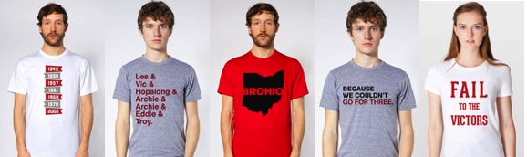 New shirts at Eleven Warriors Dry Goods!