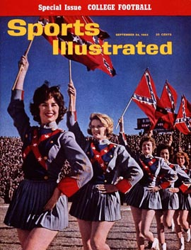 The cover of Sports Illustrated from Sept. 24, 1962
