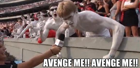 AVENGE ME!! AVENGE ME!!