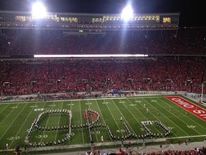 Just like Ohio State's running game, Nebraska couldn't stop Script Ohio.