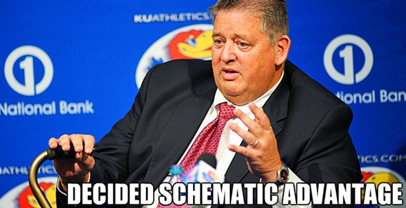 CHARLIE WEIS AND HIS DECIDED SCHEMATIC ADVANTAGE