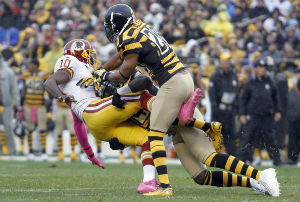 Will Allen leads the way in holding RGIII to his worst game as a pro.