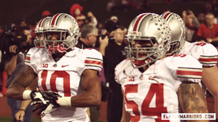 Ryan Shazier and John Simon both turned in All-Big Ten seasons for the Buckeyes