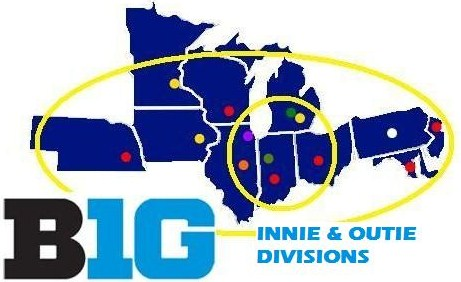 The Big Ten's Troll-fu on display.
