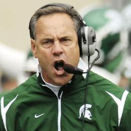 Will Mark Dantonio be smiling on National Signing Day? Probably Not.