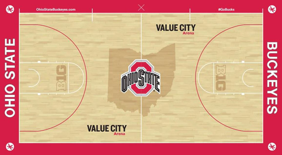 Ohio State's new basketball court will make the great state of Ohio proud