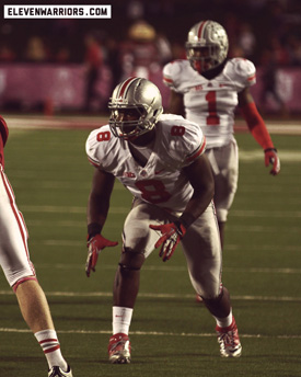 Noah Spence was among a handful of freshmen that saw playing time for Ohio State in 2012