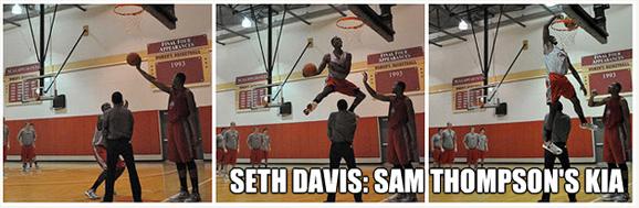 Seth Davis is Sam Thompson's Kia