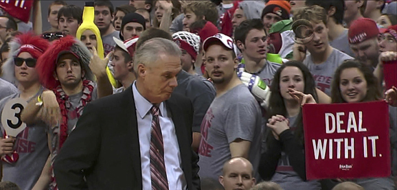 Bo Ryan, dealing with it since back in the day