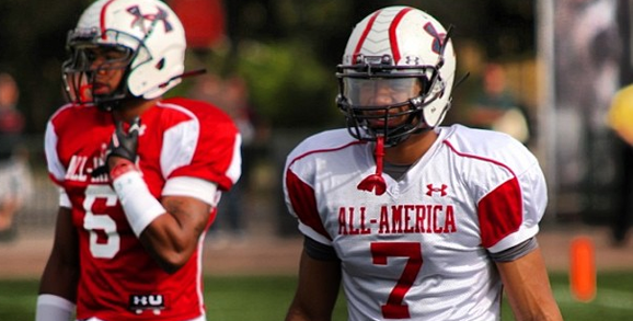 Cam Burrows and Jalin Marshall will hit the field for Team Nitro at the 2013 Under Armour All-American Game