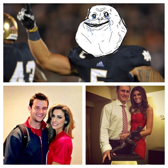 Manti Te'o is forever alone