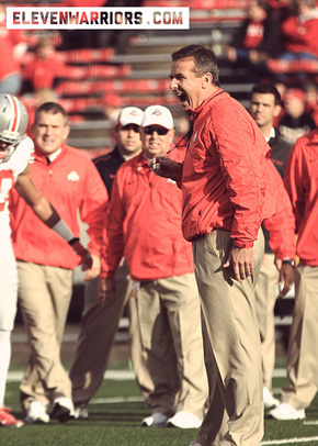 The work never stops for Urban Meyer