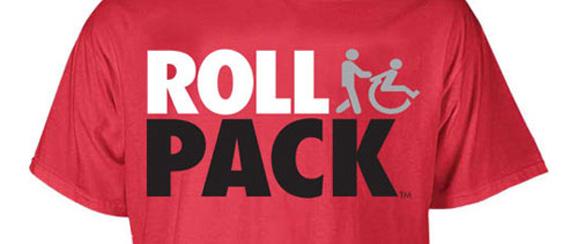 North Carolina State's Roll Pack t-shirt