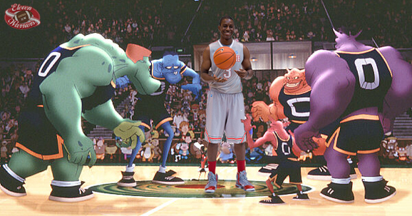Shannon Scott in Space College Jam