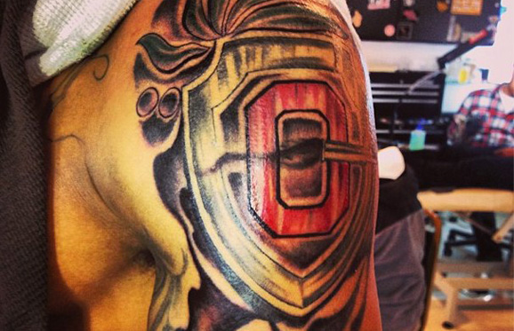 Ryan Shazier's new tattoo honors the Silver Bullets on Ohio State's defense