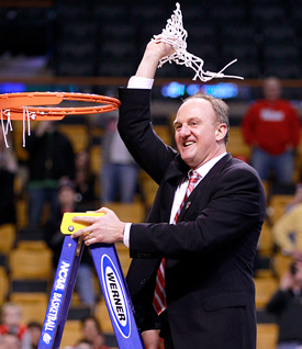Thad Matta reached 100 Big Ten wins in 141 games, the ninth-fastest of any coach.