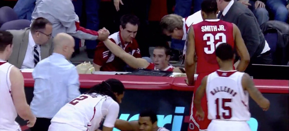 The Aaron Craft Hustlebot 5000 was in action Saturday night