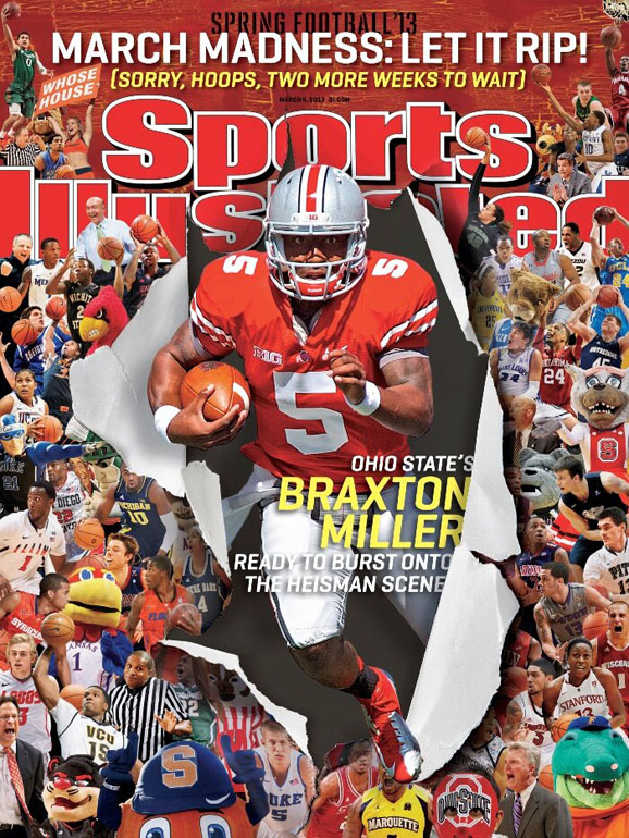Braxton Miler on the Cover of the March 4, 2013 issue of Sports Illustrated