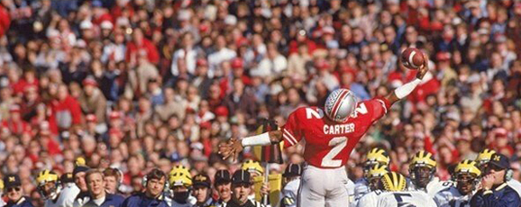 Cris Carter was elected to the NFL Hall of Fame as part of the league's class of 2013