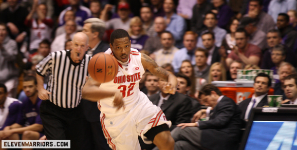 Lenzelle Smith Jr. scored a season-high 24 points for Ohio State against Northwestern