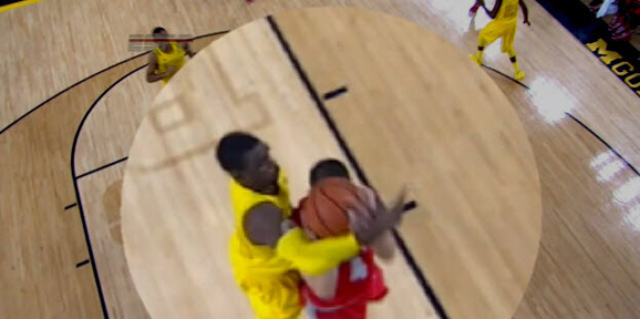 Tim Hardaway Jr. hammers Aaron Craft at the buzzer