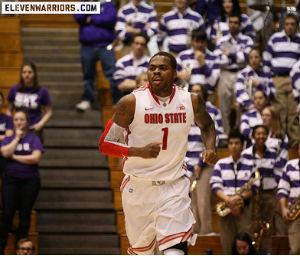 Tank saved his best for last in Northwestern's high school gymnasium.